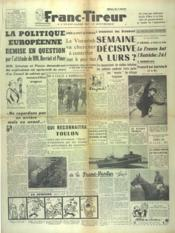 Franc Tireur N°2558 du 20/10/1952 - Couverture - Format classique