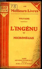 L'Ingenu - Micromegas - Couverture - Format classique