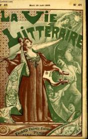 En Wagon. La Vie Litteraire. - Couverture - Format classique