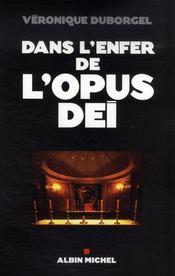 Dans l'enfer de l'Opus Dei - Intérieur - Format classique