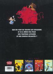 Marie frisson t.5 ; en rouge et noir - 4ème de couverture - Format classique