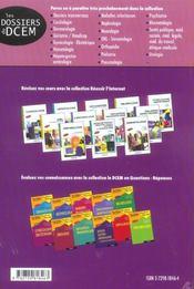 Sante Publique Medecine Sociale Medecine Legale Medecine Du Travail Ethique Medicale - 4ème de couverture - Format classique