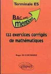 133 Exercices Corriges De Mathematiques - Intérieur - Format classique
