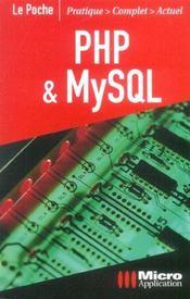 Php et mysql - Intérieur - Format classique