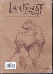 Lanfeust de Troy t.7 ; les pétaures se cachent pour mourir - 4ème de couverture - Format classique