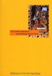 Les contes amoureux par madame Jeanne Flore - Couverture - Format classique