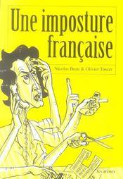 Une imposture francaise - Intérieur - Format classique