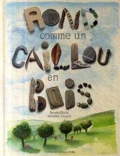 Rond Comme Un Caillou En Bois - Intérieur - Format classique