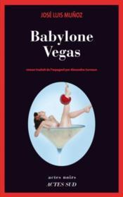 Babylone Vegas - Couverture - Format classique