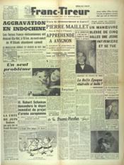 Franc Tireur N°2559 du 21/10/1952 - Couverture - Format classique