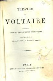 Theâtre. Tous Ses Chefs-D'Oeuvre Dramatiques - Couverture - Format classique