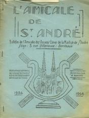 L'Amicale De St Andre - Bulletin De L'Amicale Des Anciens Eleves De La Maitrise De St Andre - Couverture - Format classique