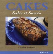 Cakes salés et sucrés - Couverture - Format classique