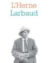 Valery Larbaud - Couverture - Format classique