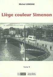 Liege Couleur Simenon - Couverture - Format classique