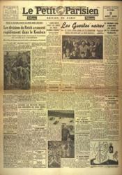Petit Parisien Edition De Paris 5 Heures (Le) N°23814 du 03/08/1942 - Couverture - Format classique
