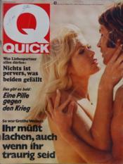 Quick N°43 du 21/10/1970 - Couverture - Format classique