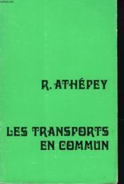 Les Transports En Commun - Couverture - Format classique