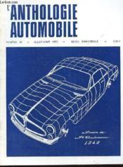 L'Anthologie De L'Automobile N°24 - Couverture - Format classique