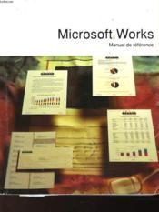 Microsoft Workd - Manuel De Reference - Couverture - Format classique