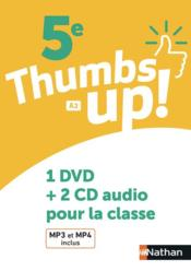 Vente livre :  Thumbs up-5e- coffret cd+dvd -2018  - Collectif