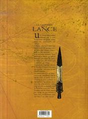 Le gardien de la lance t.5 ; les héritiers - 4ème de couverture - Format classique