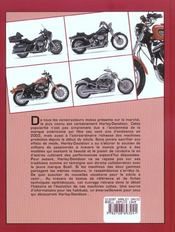 Les Modeles Harley-Davidson Et Buell Depuis 1945 - 4ème de couverture - Format classique
