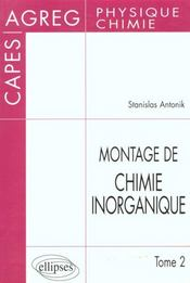 Montage De Chimie Inorganique Tome 2 - Intérieur - Format classique
