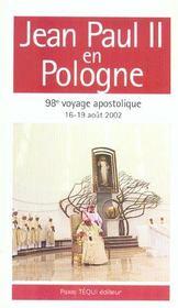 Jean paul ii en pologne ; 98e voyage apostolique - Intérieur - Format classique