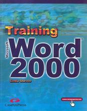 Training Campusspress Word 2000 - Intérieur - Format classique