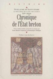 Chronique de l'Etat breton ; Guillaume de Saint-André - Couverture - Format classique