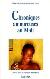Chroniques amoureuses au Mali - Couverture - Format classique