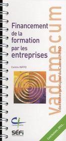 Vademecum ; Financement De La Formation Par Les Entreprises - Intérieur - Format classique