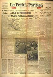 Petit Parisien Edition De Paris 5 Heures (Le) N°23816 du 05/08/1942 - Couverture - Format classique