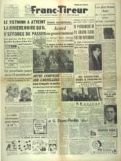Franc Tireur N°2561 du 23/10/1952 - Couverture - Format classique