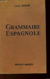 Grammaire Espagnole - Couverture - Format classique