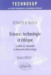 Science, tehnologie et éthique - Intérieur - Format classique