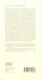 Poetique de la soif - 4ème de couverture - Format classique