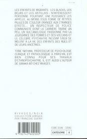 Dieu-dope ; RN N 271 - 4ème de couverture - Format classique