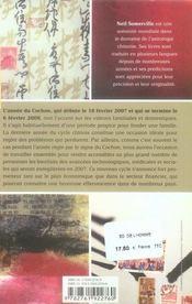 Horoscope chinois 2007 - 4ème de couverture - Format classique