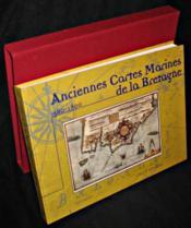Anciennes cartes marines de la Bretagne - Couverture - Format classique