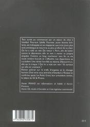 Chair amie - 4ème de couverture - Format classique