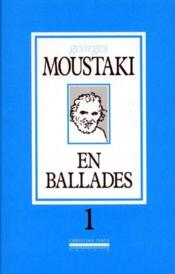 En ballade t.1 - Couverture - Format classique