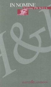 In nomine - Couverture - Format classique