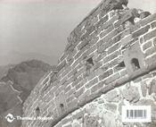 La Grande Muraille De Chine - 4ème de couverture - Format classique