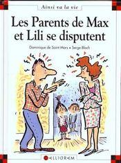 Les parents de Max et Lili se disputent - Intérieur - Format classique