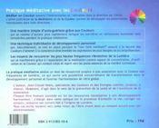 Pratique méditative avec les couleurs - 4ème de couverture - Format classique