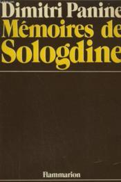 Memoires De Sologdine. - Couverture - Format classique