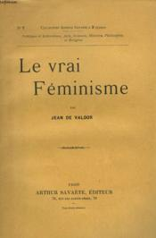 Le Vrai Feminisme - Couverture - Format classique