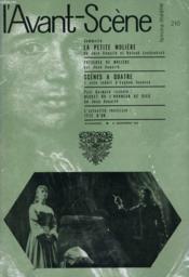 L'AVANT-SCENE - FEMINA-THEATRE N° 210 - LA PETITE MOLIERE de JEAN ANOUILT et ROLAND LAUDENBACH - Couverture - Format classique